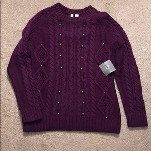 NWT Relativity Sweater Size Medium
